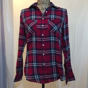Aeropostale button down plaid shirt